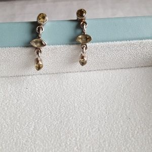 Jewelry - Sterling silver Citrine earrings